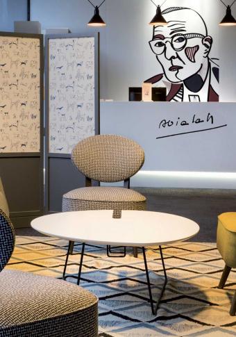 Best Western Plus Hôtel Littéraire Alexandre Vialatte - Reception